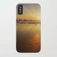 Sunset over the Pacific  Slim Case iPhone X