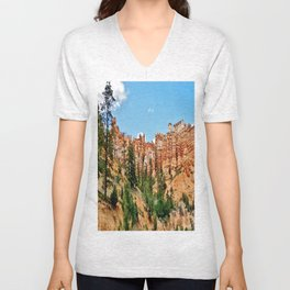 Magnificent Hoodoos Unisex V-Neck