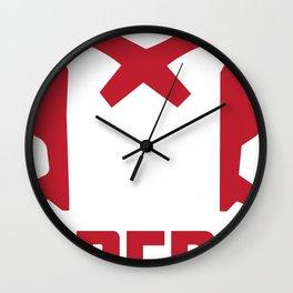 SKYF-01-014 dredd helmet 2 Wall Clock