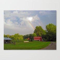 magical sky puke Canvas Print