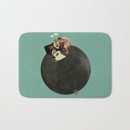 Life on Earth | Collage Bath Mat