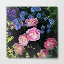 Mixed Flowers Metal Print
