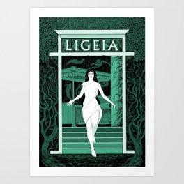 Ligeia Art Print