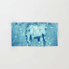 Horse and faerie lights Hand & Bath Towel