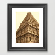 Brihadeeswara Temple Framed Art Print