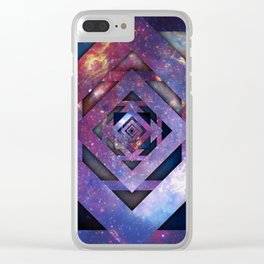 Twisted Universe, Second Clear iPhone Case