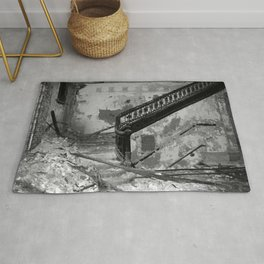 Elegance, urban exploration Rug