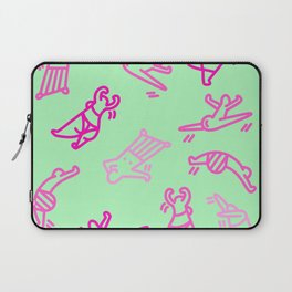 Dance In Your (Green) Pants Laptop Sleeve