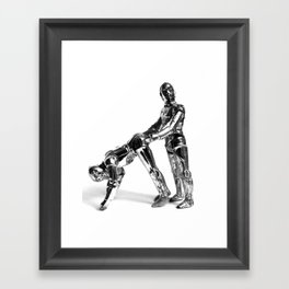 Droid Buttseks Framed Art Print