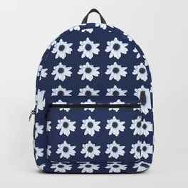 Good Night, Sleepy African Daisy Flower Backpack