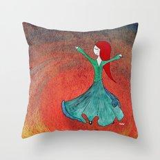 Sufi Throw Pillow