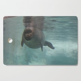 the little sea dweller Cutting Board