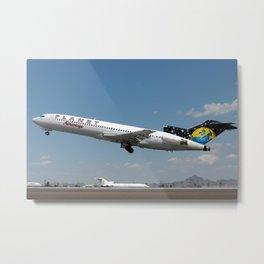 Planet Airways 727-200 departure Metal Print