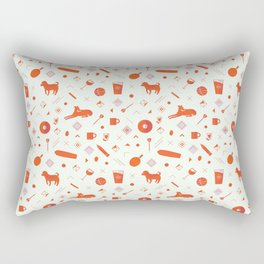 Redpattern Rectangular Pillow