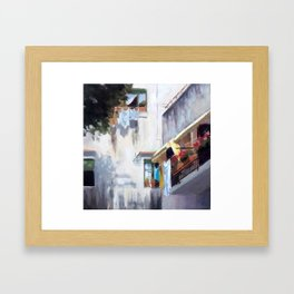 Drying Framed Art Print