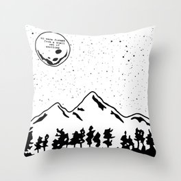 We Were Formed Together Throw Pillow