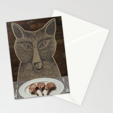 Three Little Pigs Stationery Cards