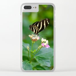 Cal. Academy Butterfly Clear iPhone Case