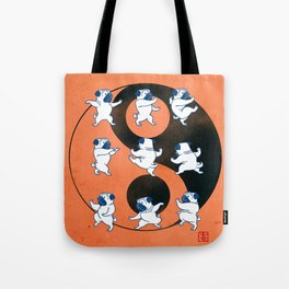 Pug Tai Chi Moves Tote Bag
