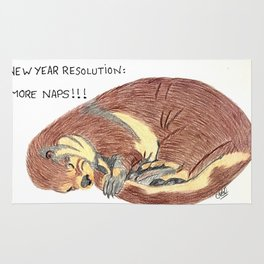 More naps Rug