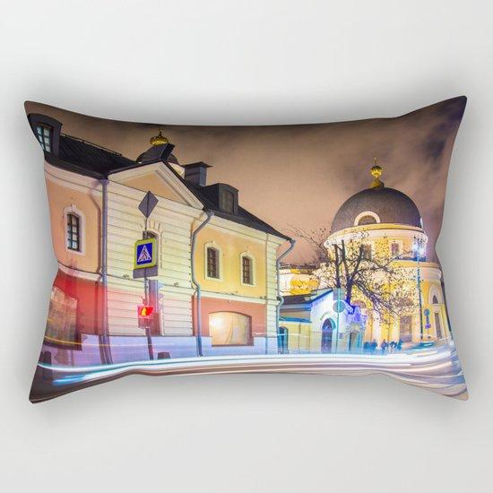 Evening in Moscow Rectangular Pillow