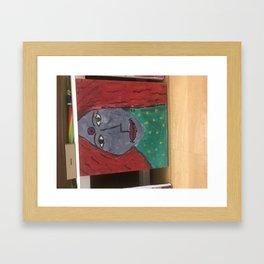 Rural  Indian Woman Framed Art Print
