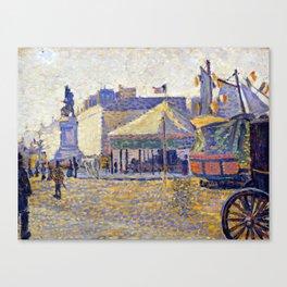 Paul Signac Place de Clichy Canvas Print