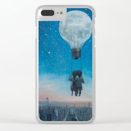 Our Love Will Light The Night Clear iPhone Case