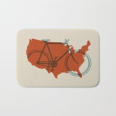 Bike America Bath Mat