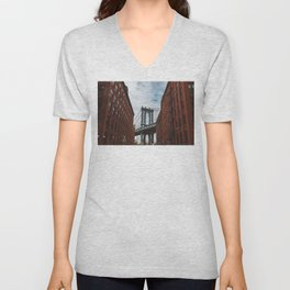 New York Love II Unisex V-Neck