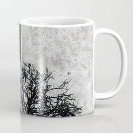 Natural Outlines - Oak Tree Black & Concrete #402 Coffee Mug