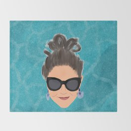 Beach Babe Throw Blanket