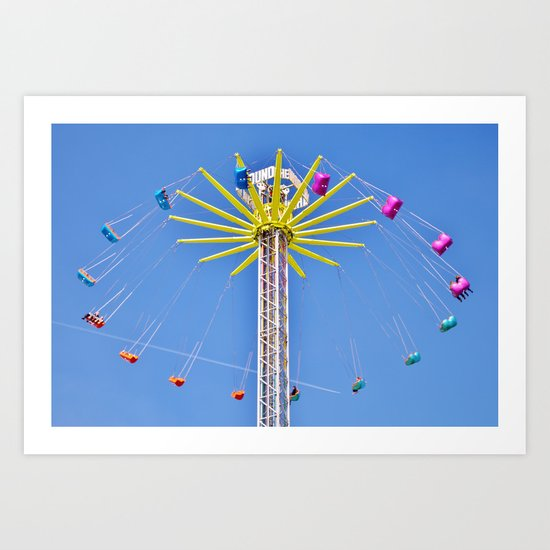 The Thrill of it All Art Print