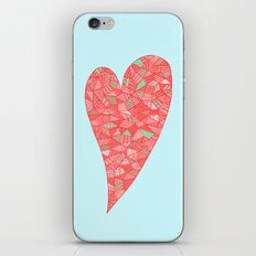 Puzzled Heart iPhone & iPod Skin