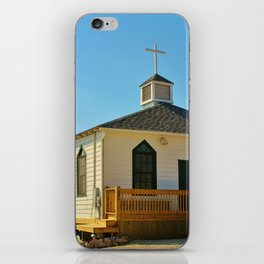 Chapel Over Pawleys Creek iPhone Skin