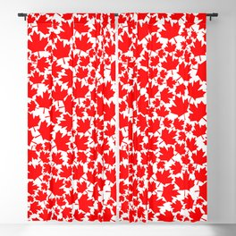 Canadian fall / Canadian flag maple leaf pattern Blackout Curtain