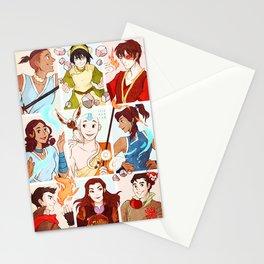 Team Avatar Stationery Cards