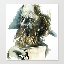 FACE#19 Canvas Print