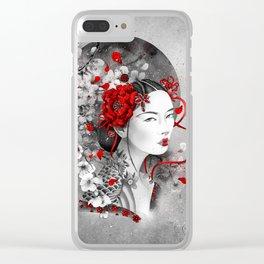Chiharu Clear iPhone Case