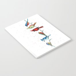 5 Birds Notebook