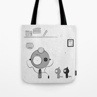 doctor Tote Bags featuring Doctor by iodine