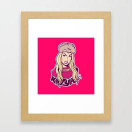 Katya Framed Art Print