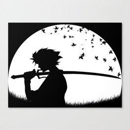 Mugen - Samurai Champloo Canvas Print