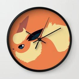 Flareon Wall Clock