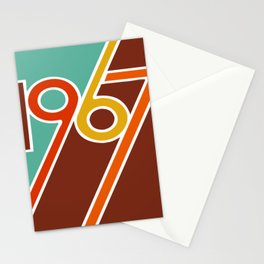 VINTAGE 1967 Pop Art by BruceALMIGHTY Stationery Cards