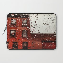 Rainy Day in Brooklyn Laptop Sleeve