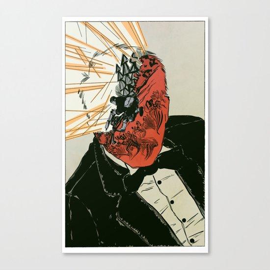 Shell Shock - Colour Canvas Print