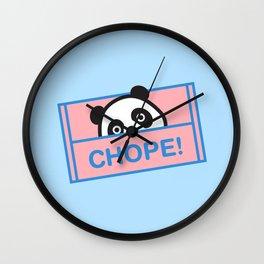 Chope Panda Wall Clock