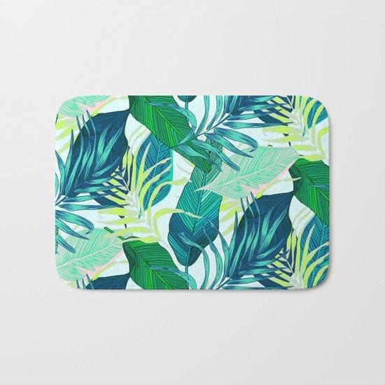Tropical frenzy Bath Mat