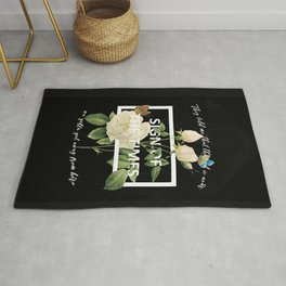 Harry Styles Sign Of The Times graphic design Rug